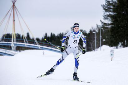 Annamaija Oinas Taivalkoskelta nuorten MM-kisoihin