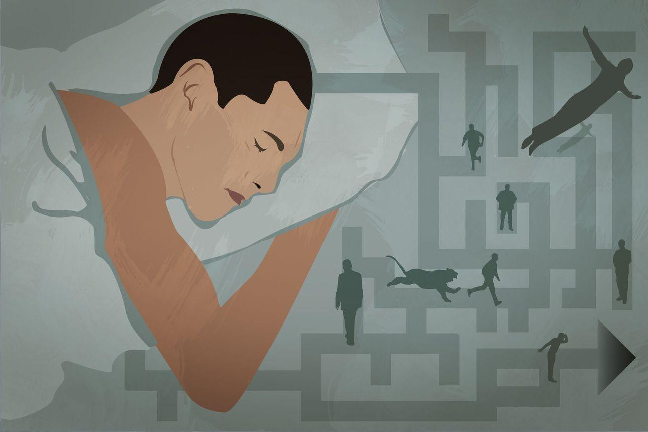 Myöhästyitkö unissasi junasta? Eikö hissi taaskaan tottele? Epätoivoisen yrittämisen teema on yllättävän yleinen uniteema, ja näin sen selittää uusin tutkimus
