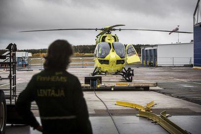 Pohjoisen lääkäri- ja lääkintähelikoptereiden lentotoiminta siirtyy Finnhemsille helmikuussa