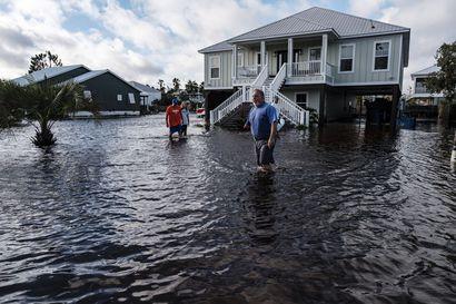 Hurrikaani Sally aiheutti katastrofaalisia tulvia Yhdysvalloissa – yli puoli miljoonaa ihmistä oli ilman sähköä