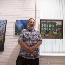 Monipuolista taidetta tarjolla pääkirjaston näyttelytilassa