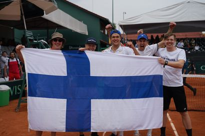 Otto Virtanen ratkaisu Davis cupin Suomelle Meksikossa - Suomi jatkaa 1-ryhmässä