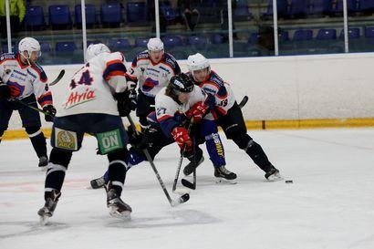Raahe-Kiekko hävisi ensimmäisen pudotuspelin kotonaan