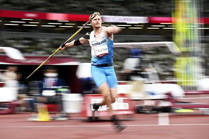 Chopra heitti Intian ensimmäisen yleisurheilun olympiakullan, Etelätalo kahdeksas