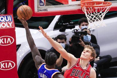 """30 pistettä heittäneen Lauri Markkasen peli kulkee NBA:ssa: – """"Kun Lauri pelaa aggressiivisesti häntä ei voi pysäyttää"""""""