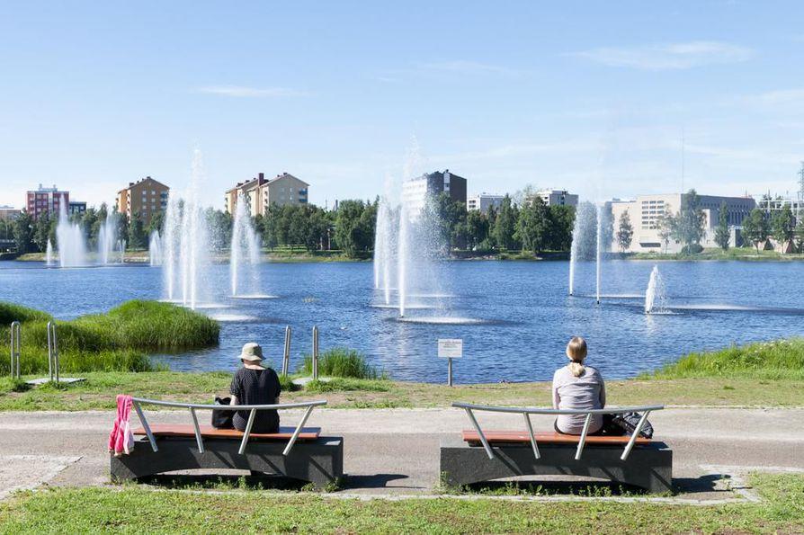 Ainolan puisto on oululaisten paikka rentoutua ja hengittää.