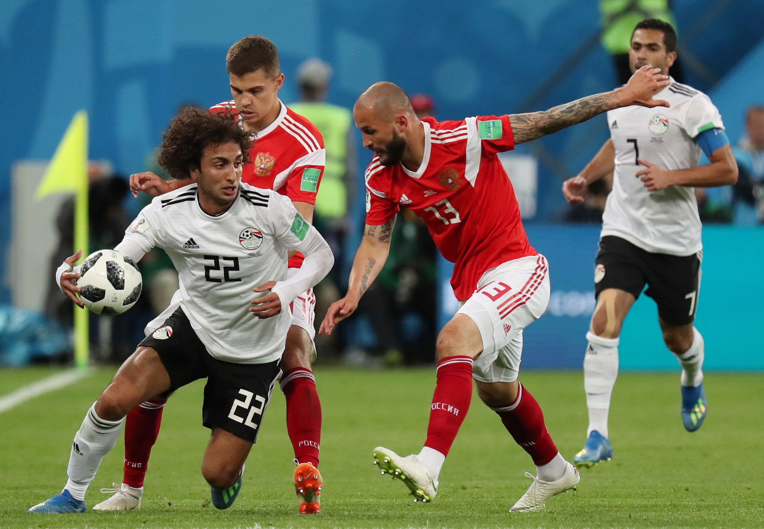 Egyptin Jalkapallomaajoukkue