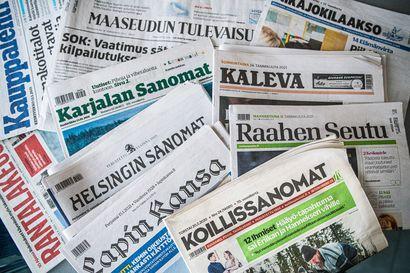 Lähes jokainen suomalainen lukee sanomalehtiä, myös digitaalisesti