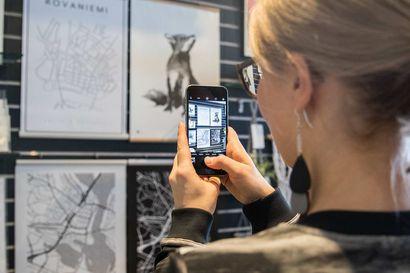 Piipahdus uudistuneeseen Korundi Shopiin – Kauppa, josta löydät muuan muassa Uhana Designin suositut Pisara-korvakorut ja hitiksi nousseet Rovaniemi-julisteet
