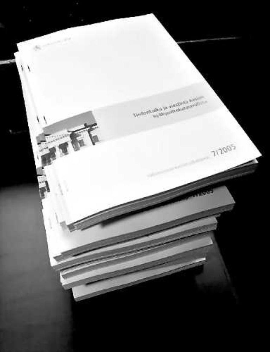Selvitys hyökyaaltokatastrofin tiedotuksesta oli yli 300-sivuinen.