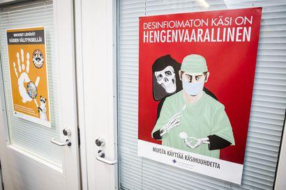 Koronavirus: OYS:ssa alle viisi potilasta, Koillismaan kunnat edelleen värittöminä