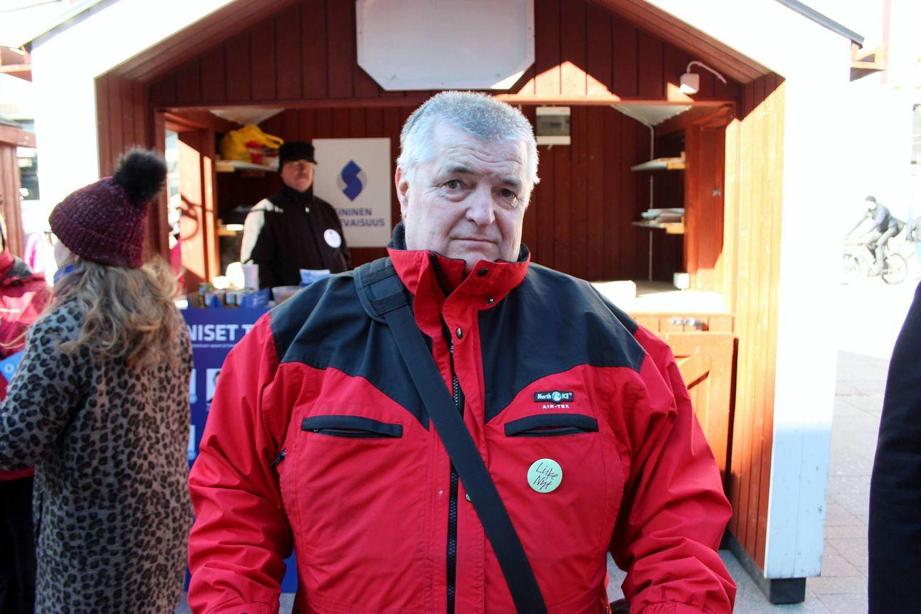 """""""Työkyvyttömyys yhtenäistettävä"""" – Posiolaislähtöinen Pertti Latvala jätti jälleen kansalaisaloitteen"""