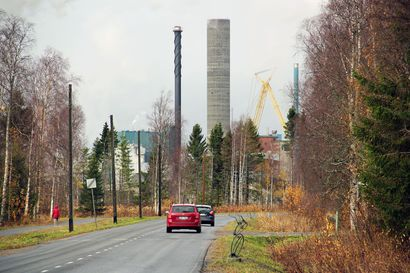 Kemi sai uuden maamerkin – Metsä Fibren tehtaan 105 metriä korkean piipun liukuvalaminen kesti 27 päivää