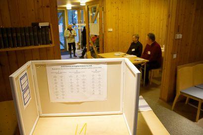 Seurakuntavaalien ennakkoäänestys alkoi Pudasjärvellä – useita äänestyspaikkoja avoinna