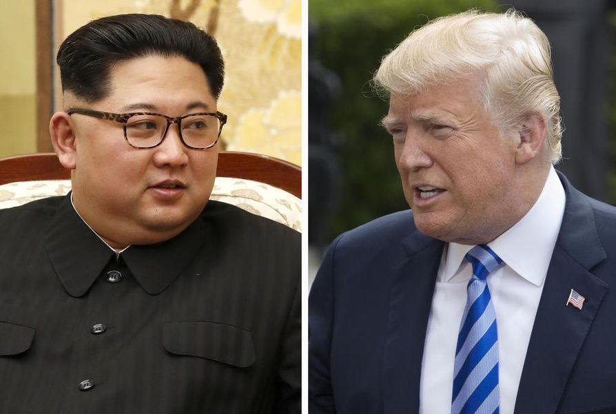 Pohjois-Korean johtajan Kim Jong-unin ja Yhdysvaltojen presidentti Donald Trumpin tapaaminen on 12. kesäkuuta Singaporessa.