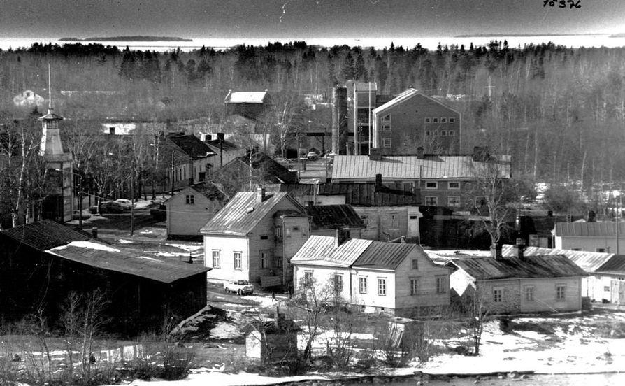 Kuva Pikisaaresta vuodelta 1973.