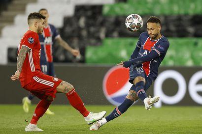 PSG ja Chelsea etenivät välieriin – Mestarien liigan hallitseva mestari Bayern München putosi  vierasmaaleilla jatkosta