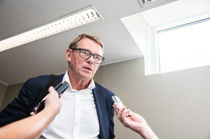 Valtiovarainministeri Matti Vanhanen: Ei työttömyysturvan porrastamista tässä tilanteessa, jossa taloutta elvytetään