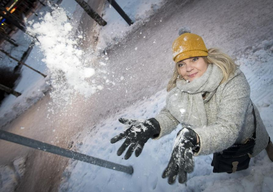 Ulla Anttila uskoo, että Oulun talvi houkuttelee turisteja.