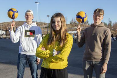 Kempeleen Lentopallon juniorityö kantaa hedelmää – Kolme seuran pelaajaa lähtee tänä viikonloppuna pidettäviin nuorten EM-karsintoihin tavoittelemaan finaalipaikkaa