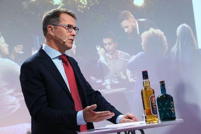 Uuden Anoran toimitusjohtaja Pekka Tennilä uskoo alkoholijuomien myynnin vahvaan kasvuun erityisesti Pohjoismaiden ulkopuolella