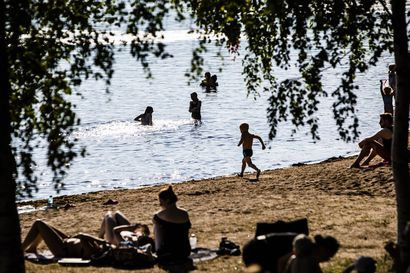 Juhannus on Rovaniemellä aurinkoinen, mutta ei helteinen – alkukesä on ollut Lapissa tavallista lämpimämpi