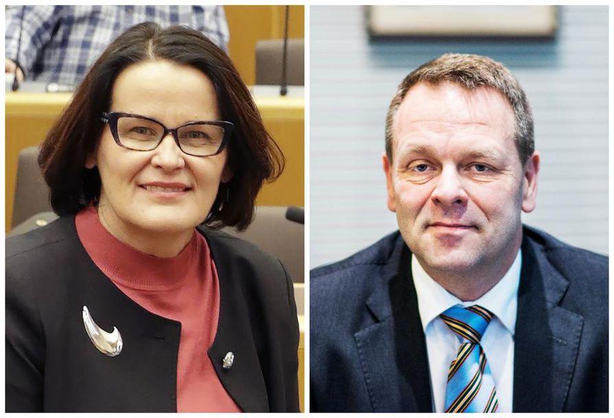 Oulun kaupunginjohtaja Päivi Laajala osallistui Helsingin pormestarin Jan Vapaavuoren järjestämään koontumiseen torstaina Helsingissä.