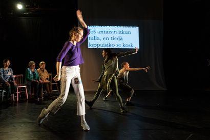 Huomisen todistajat on tanssiteos, jossa kietoutuvat sotamuistot Somaliasta, Irakista ja Suomesta