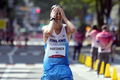 """Aku Partanen taisteli 50 kilometrillä yhdeksänneksi – """"Sain kaiken irti, mitä oli otettavissa, mutta ihan vähän jäin täydellisestä suorituksesta"""""""