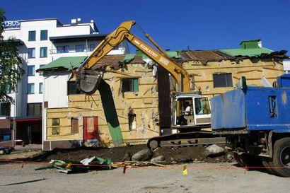 Rovaniemi myönsi jatkoaikaa ravintola Sampon tyhjillään olevan tontin rakentamiseen