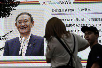 Japanissa Yoshihide Suga nousee maan johtoon ohitettuaan pääministeri Shinzo Aben ja kansan ennakkosuosikit