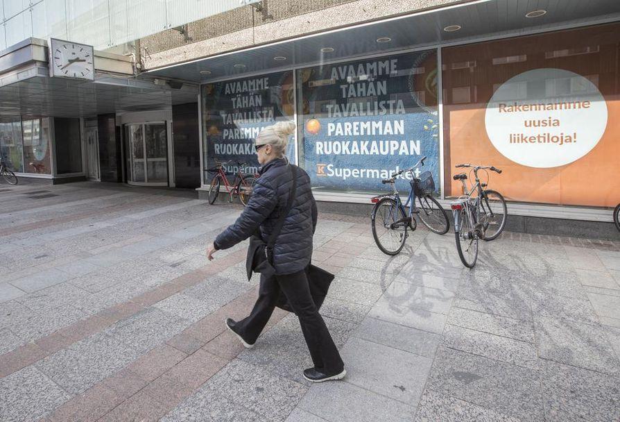 Stockmannin entiseen kiinteistöön avataan Kauppakortteli Pekuri.