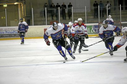 Raahe-Kiekko pelasi paineen alta vierasvoittoon