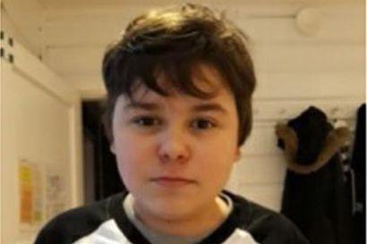 Poliisi etsii ja kaipaa havaintoja kadonneesta 14-vuotiaasta Samuel Hännisestä