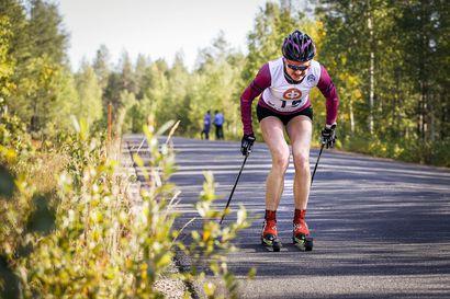 Iivo Niskanen ja Johanna Matintalo sprintin SM-ykköset rullahiihdossa - Josefiina Böök pronssille