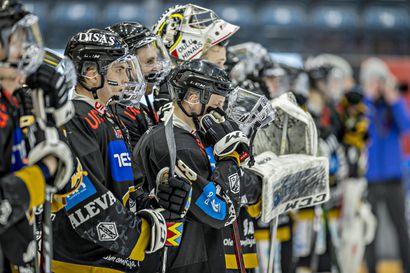 Kultaunelma karkasi Kärpiltä – Maalivahti Alex Mäkelä johdatti Lukon 63 vuoden tauon jälkeen Suomen mestaruuteen