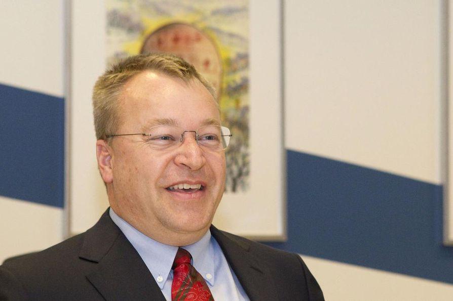 Stephen Elop toimi Nokian toimitusjohtajana kolme vuotta.