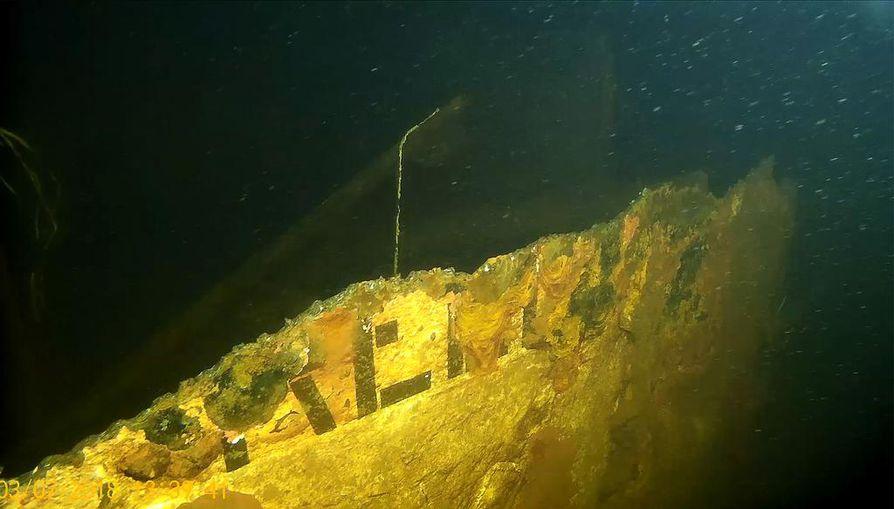 Alus upposi kansainvälisellä vesialueella, joka kuitenkin liitettiin Suomen aluevesiin haaverin jälkeen 31.7.1995.