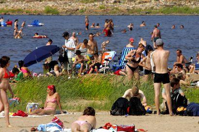 Pudasjärvellä kivuttiin sunnuntaina maakunnan lämpöennätykseen – lämmintä luvassa myös alkuviikoksi