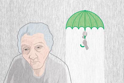 """Huoli äidistä valvottaa omaista: """"84-vuotias, sydän- ja muistisairas sekä tuki- ja liikuntaelinsairauksista kipuileva äitini olisi ansainnut ihmisarvoiset elämänsä loppuvuodet"""""""