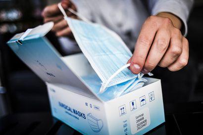 Pohjois-Pohjanmaa on siirtynyt koronaepidemian kiihtymisvaiheeseen – Maskeja suositellaan nyt käytettäväksi myös toisen asteen oppilaitoksissa ja työpaikoilla
