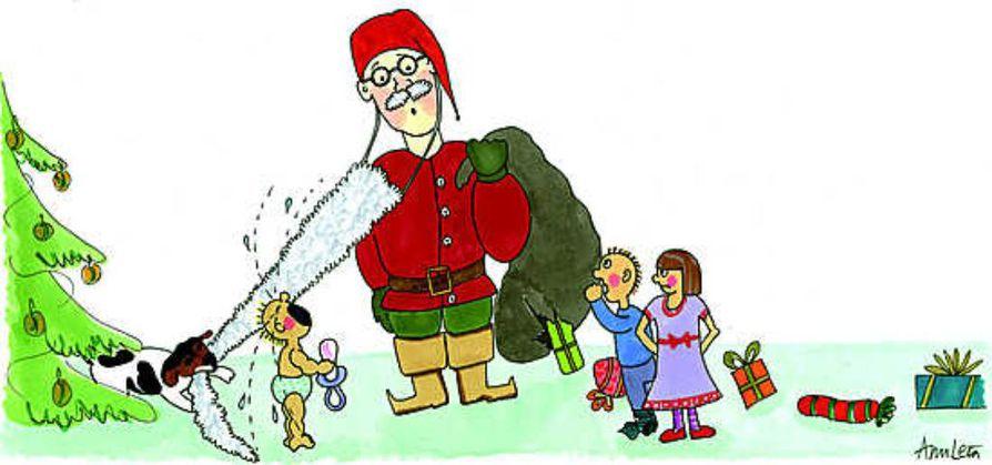 Lapsi tarvitsee mielikuvitusta ja satukokemuksia, joten pukilla pelottelu sopivassa määrin on vain hyväksi. Eikä maailma romahda, kun joulun suuri salaisuus lopulta paljastuu.
