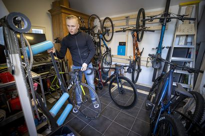 """Nuorten maajoukkueeseen kuuluva Severi Savukoski, 18, on ikäluokkansa ainoa kilpapyöräilijä Oulun seudulla – """"Tärkeintä olisi löytää joku ulkomainen joukkue, ja päästä sitä kautta eteenpäin"""""""