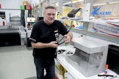3D-tulostus tekee tuloaan Lapissa – Lapin AMK panostaa nyt paljon kolmiuloitteisen tulostuksen opettamiseen