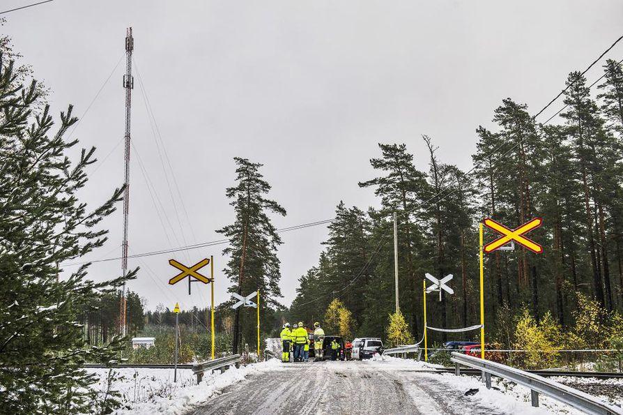 Onnettomuus tapahtui lokakuussa 2017 Raaseporissa.