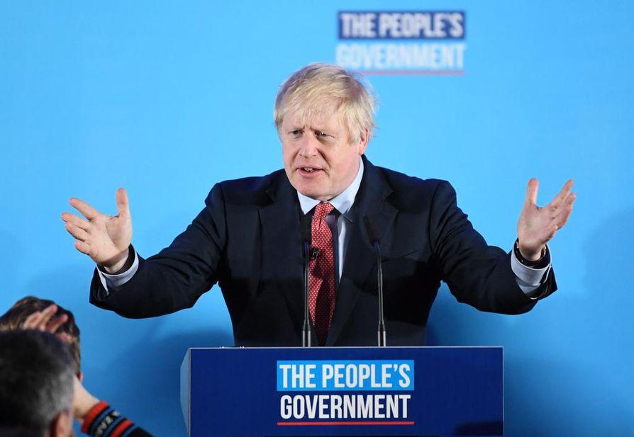 Konservatiivipuolueen johtaja ja pääministeri Boris Johnson sanoi vaalivoiton jälkeen puheessaan, että hänen puolueensa voi nyt vihdoin viedä EU-eron maaliin ja laittaa pisteen uhkauksille uuden kansanäänestyksen järjestämisestä.
