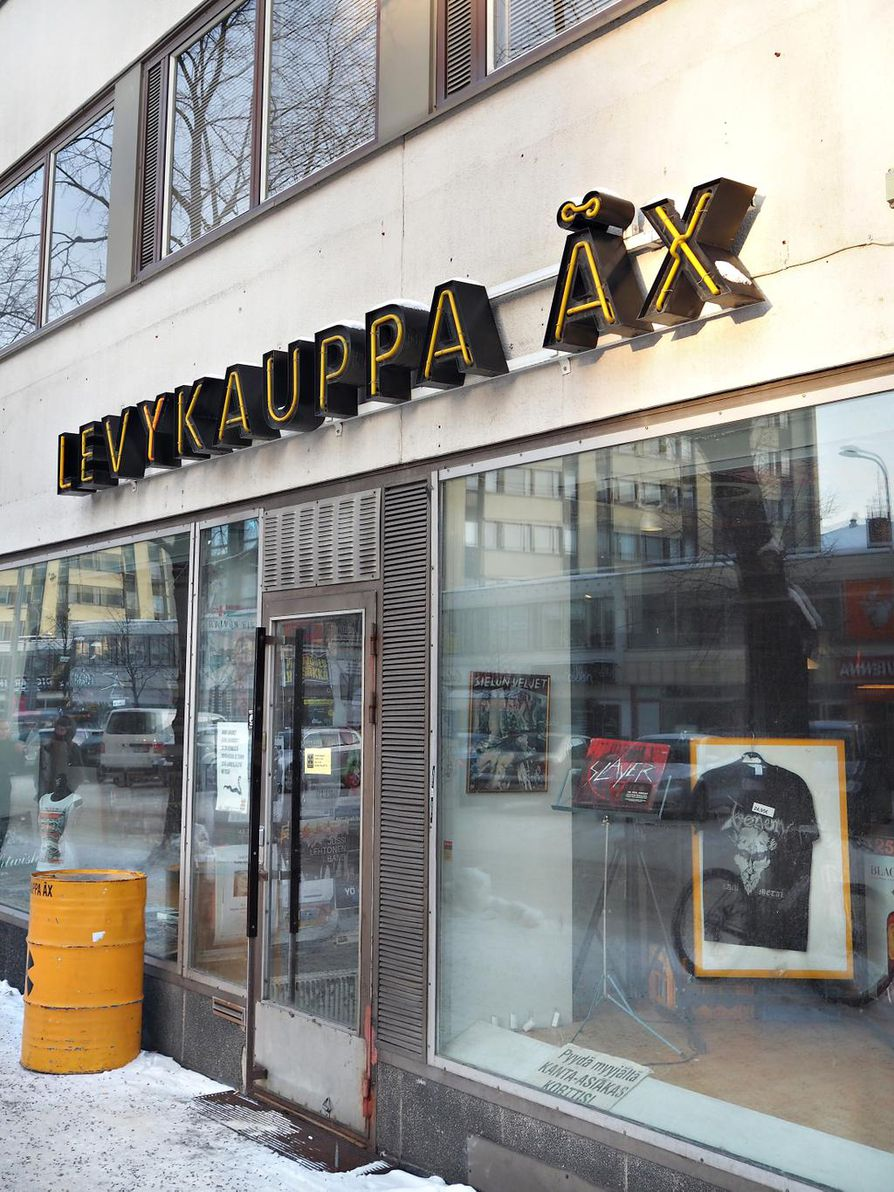 Levykauppa X Oulu