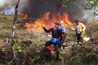 Syötteen kansallispuistossa kasketaan – Lomavaaran alueella saattaa savuta sankasti