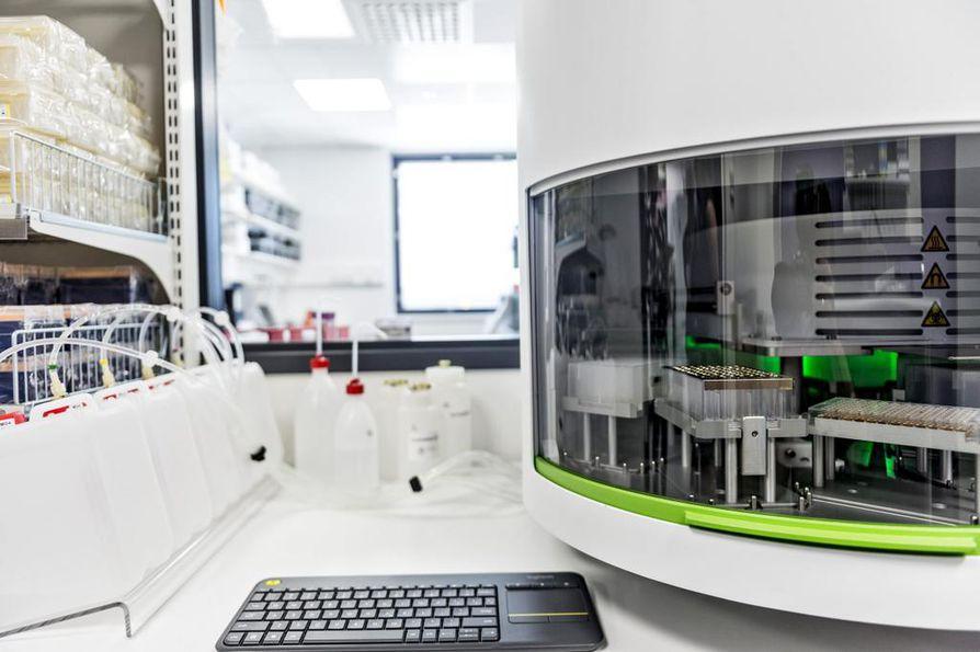 Vuonna 2014 perustettu biopankki Turussa on Suomen ensimmäinen sairaalabiopankki.
