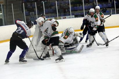 Raahe-Kiekko hävisi ensimmäisen ottelun Forssassa